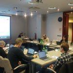 Easy Reading Zwischen Review-Meeting in Luxemburg