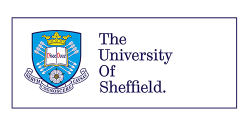 Logo University of sheffield.