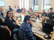 Zweites Reviewmeeting in Luxemburg
