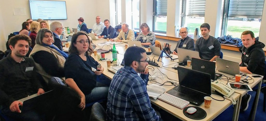 2nd Review Meeting in Luxembourg