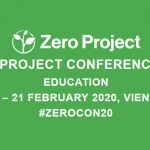 Save the date: Easy Reading at the Zero Project Conference 2020