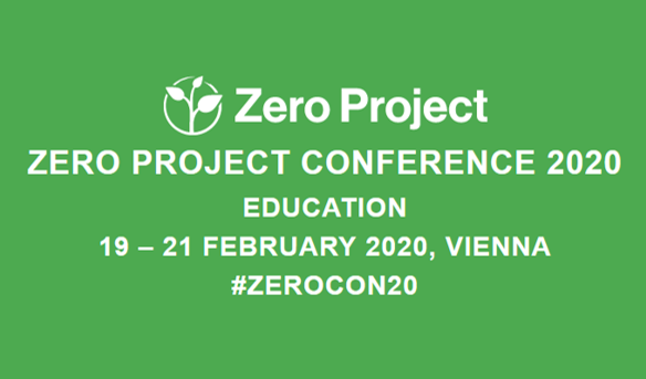 Zero project Conference education 18-21 February 2020, Vienna #zerocon20