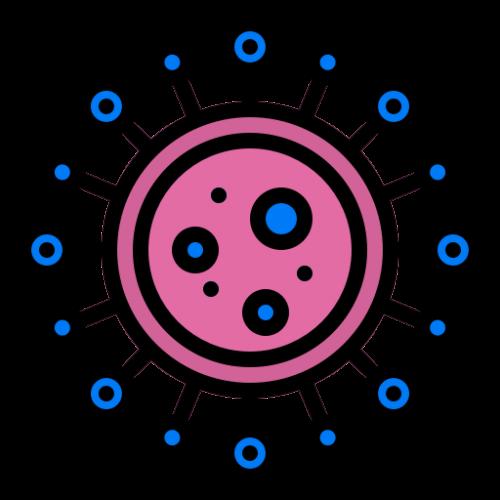 Ikon coronaviruscell
