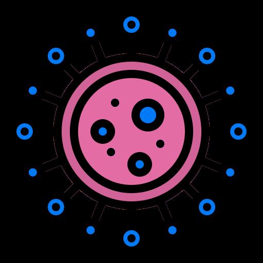 Icon coronavirus cell