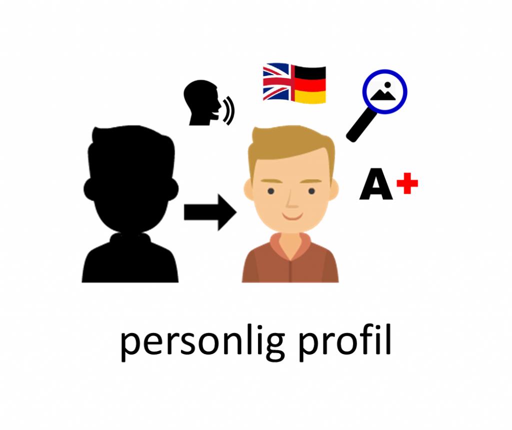 personlig profil