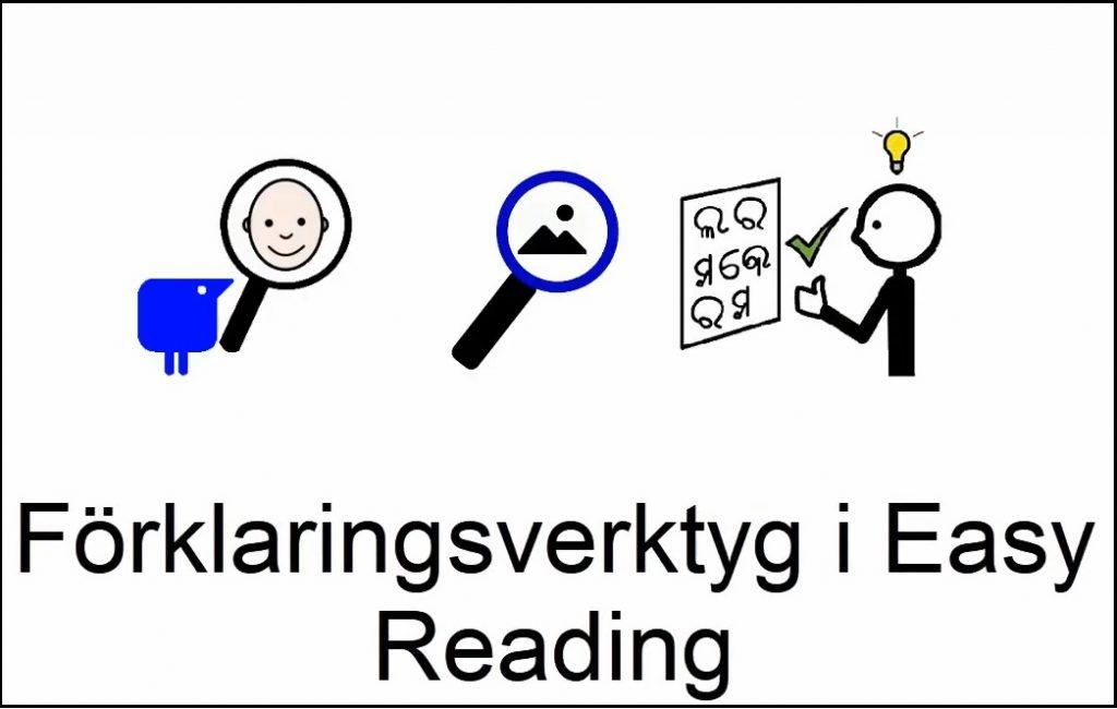 Förklaringsverktyg i Easy Reading