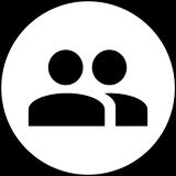 Icon zwei unbekannte User